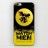 watchmen iPhone & iPod Skins featuring Watchmen poster by Lionel Hotz