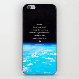 The Highest Heavens iPhone Skin