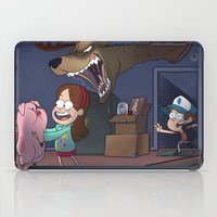 gravity falls iPad Cases featuring Gravity Falls  by Steven Ray Brown