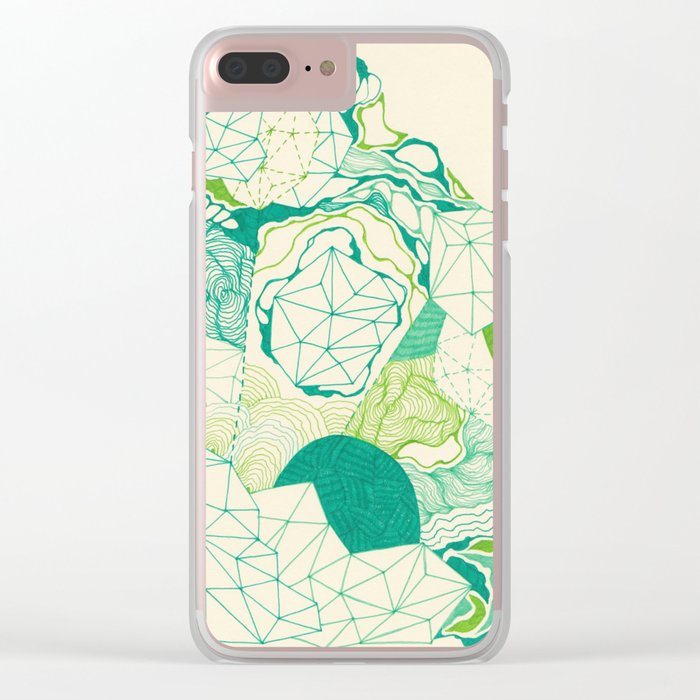 Post Break-Up Lovers Clear iPhone Case