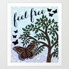 Butterfl Art Print