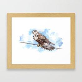 Windy Day in Skagit Valley Framed Art Print