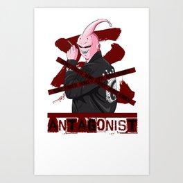 Antagonist - Menace to Society Art Print