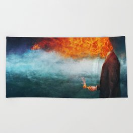 Deep Beach Towel