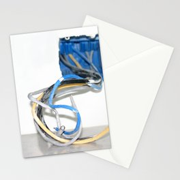 Wire Box Stationery Cards