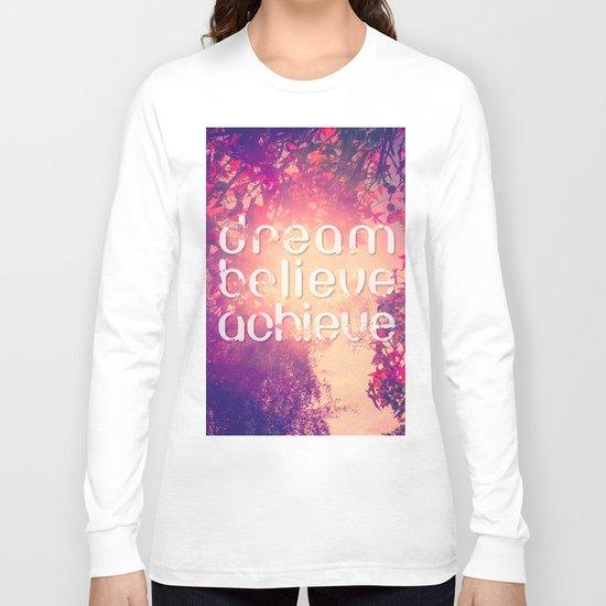 Autumn Sunshine and Pink Purple Maple Trees Long Sleeve T-shirt