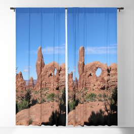 A  Bizarre Rockformation Blackout Curtain