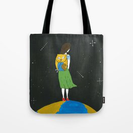 An extraordinary girl Tote Bag
