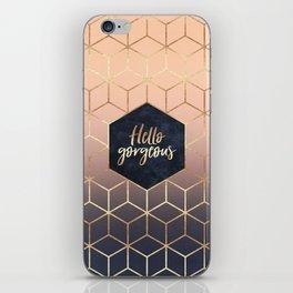 Hello Gorgeous iPhone Skin