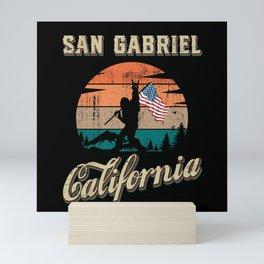San Gabriel California Mini Art Print