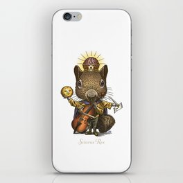 King of Squirrels iPhone Skin