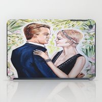 gatsby iPad Cases featuring GATSBY - DAISY by Sam Parigi