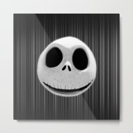 Scary Cute Halloween Metal Print