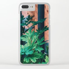 Summer Shine Clear iPhone Case