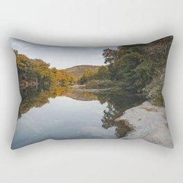 Early Mornin' On The River. Rectangular Pillow