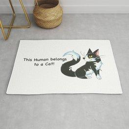 Cat Ownership (Tuxedo) Rug