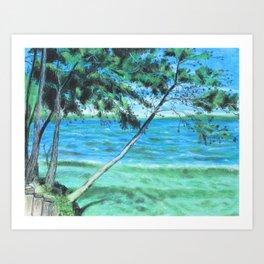 Lakeland 3 Art Print