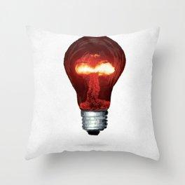 Eureka Bomb Throw Pillow