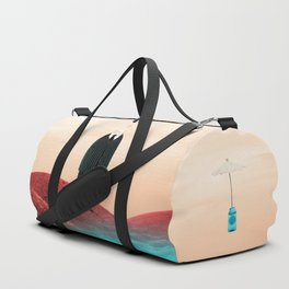 Time Rabbit and Life's water Duffle Bag