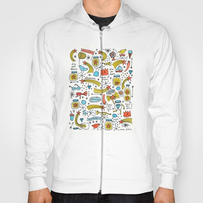 chasing stars and putting them in jars Hoody