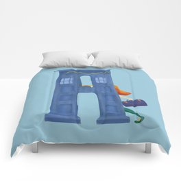 A for Amy Pond Comforters