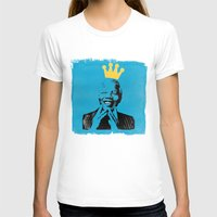 mandela T-shirts featuring King Mandela by César Ovalle