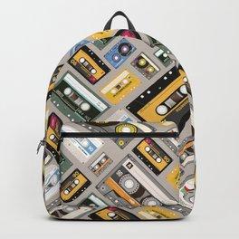 Retro cassette tape pattern 4 Backpack