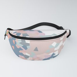 love the world to pieces pinks and grays Fanny Pack