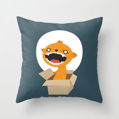 Bad Surprise Throw Pillow