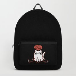I Love To Watch You Sleep Backpack