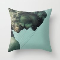 spider Throw Pillows featuring Spider by woo made it