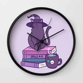 Feline Familiar Wall Clock