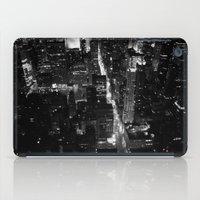 manhattan iPad Cases featuring Manhattan by Anne Dante