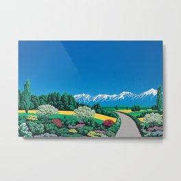 Hiroshi Nagai Art Print Poster Vaporwave Aesthetic Metal Print