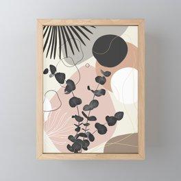 Eucalyptus Fan Palm Finesse #7 #tropical #decor #art #society6 Framed Mini Art Print