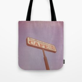 Day Breakers Cafe Tote Bag
