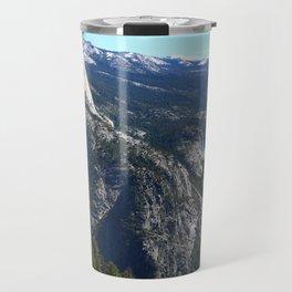 Imposing Glacier Point View Travel Mug