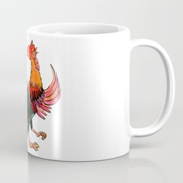 Rooster Crowing Coffee Mug