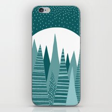 Moonlight Forest iPhone & iPod Skin