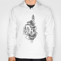 castle in the sky Hoodies featuring Castle in the sky by Mary Koliva