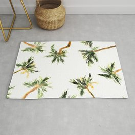 Under the coconut palms Rug