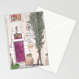Alley in the French Riviera Stationery Cards
