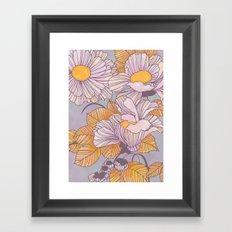 Sun Blossoms Framed Art Print