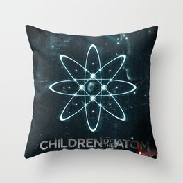 Children of the Atom Throw Pillow