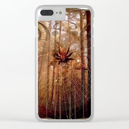 Elvish Places II Clear iPhone Case