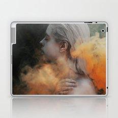Yellow smoke Laptop & iPad Skin