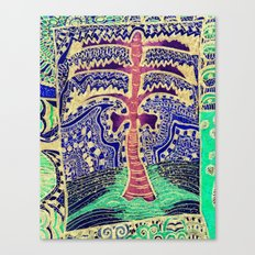 Jardin 5 Canvas Print