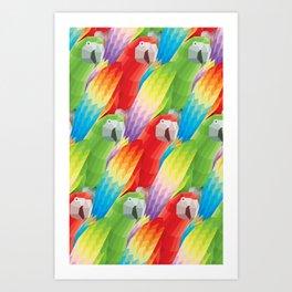 Color of Flight Art Print