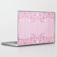 rockabilly Laptop & iPad Skins featuring rockabilly lines by La Señora