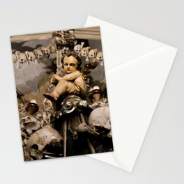 in the midst of life we are in death et cetera Stationery Cards